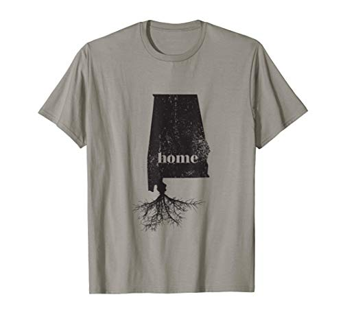 Alabama Shirt Women Men Kids Home Roots State Map Love Gift ()