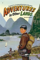 Adventures in Other Lands Speed and Comprehension Reader for sale  Delivered anywhere in USA
