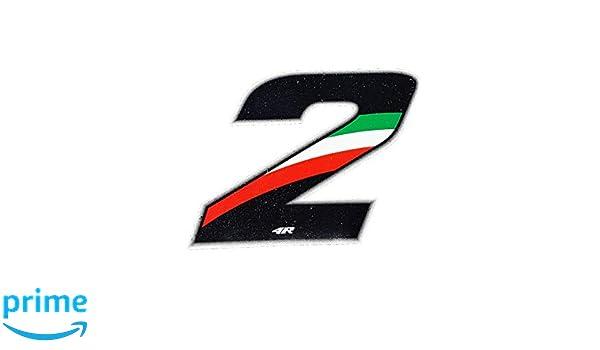 Quattroerre 13163 Numero Racing 3 Medio Flag 10 X 7,5 cm