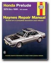 Haynes Honda Prelude CVCC (79 - 89) Manual (Honda Prelude Manual)