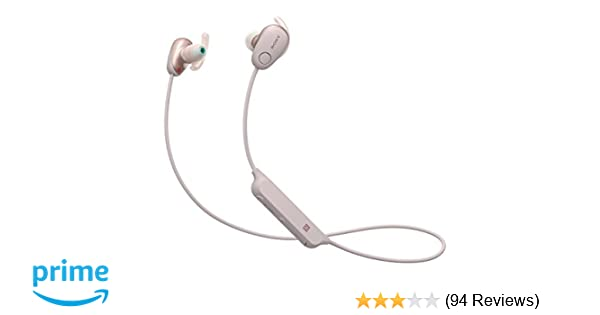 Amazon.com: Sony SP600N Wireless Noise Canceling Sports In-Ear Headphones, Pink (WI-SP600N/P): Electronics
