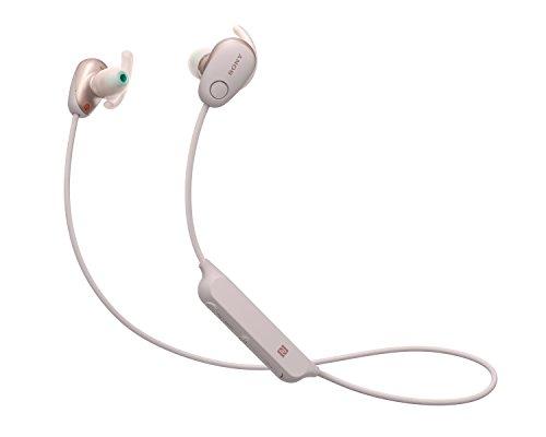 Sony WI-SP600N/PMUC Audífonos Deportivos Internos Inalámbricos, Color Rosa