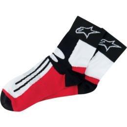 Alpinestars Short Racing Road Socks Black Red Small/medium