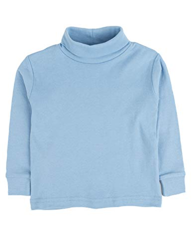 Leveret Solid Turtleneck 100% Cotton (2 Toddler, Light ()