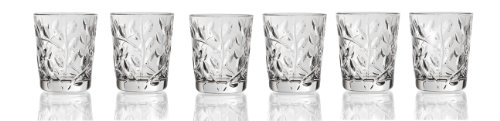 - Lorenzo Laurus Collection Rcr Crystal Shot Glasses, Set of 6