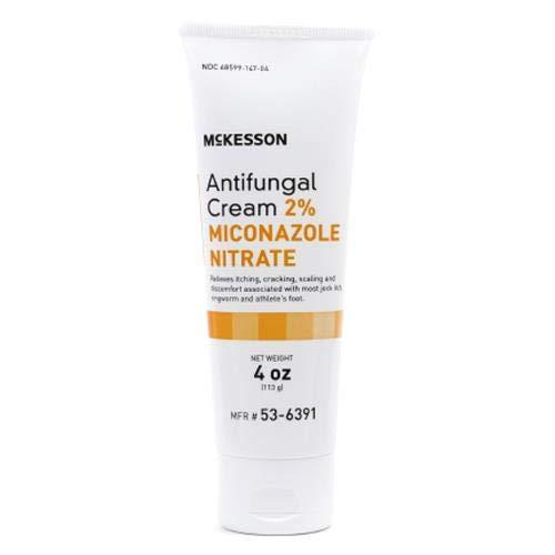 McKesson - Antifungal - 2% Strength - Cream - 4 oz. - Tube - 12/Case
