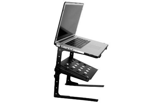 (Accenta LAP-1 Adjustable Multi-Level DJ Laptop Stand with Shelf)