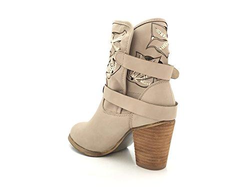 CHIC NANA ,  Damen Chelsea Boots Taupe