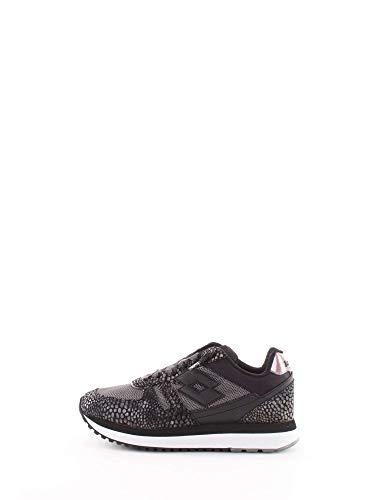 Tela Nero EU Tokyo Pelle Donna Sneakers Python Lotto 40 Wedge Leggenda W 0w4PEqzO