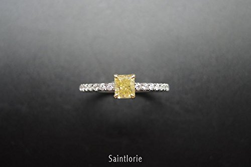 0.4 Ct Yellow Diamond - 1