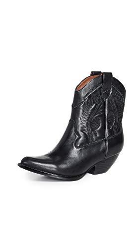 - Jeffrey Campbell Women's Calvera Western Boots, Black, 6.5 M US