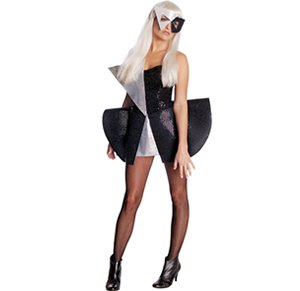 [Wig, microphone, fishnet stockings and shoes not i] (Secret Agent Woman Costume)