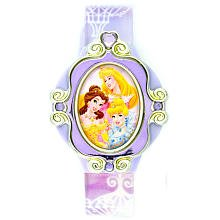 Click for larger image of Disney Kids' PRS211 Princesses Digital Interchangeable Topper Watch