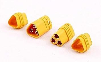 MT60 3 Polige Stecker Und Buchsen Für RC ESC Zum Motor