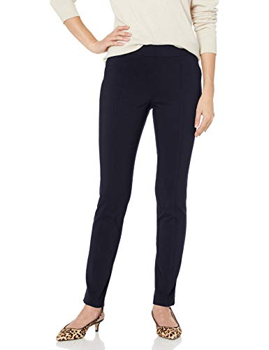 Rafaella Women's Supreme Stretch Pant, navy, 14