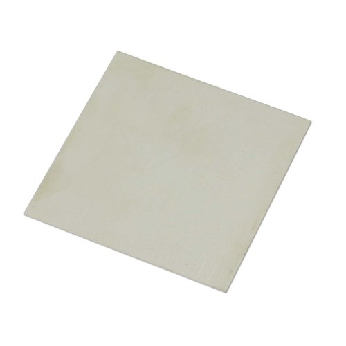 Nickel Silver Sheet 22 Gauge 3″ x3″ for Jewelry Making