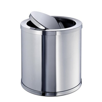 Windisch 89182-CR-637509869274 Accessories Collection Beautiful Waste Basket, Chrome