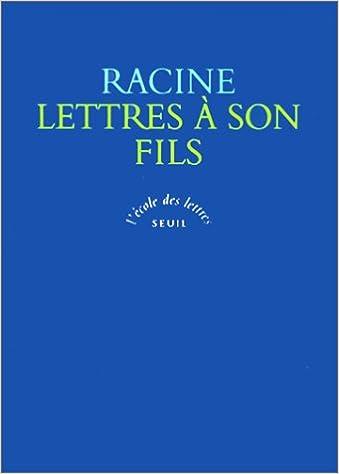 Lire en ligne Lettres à son fils pdf, epub