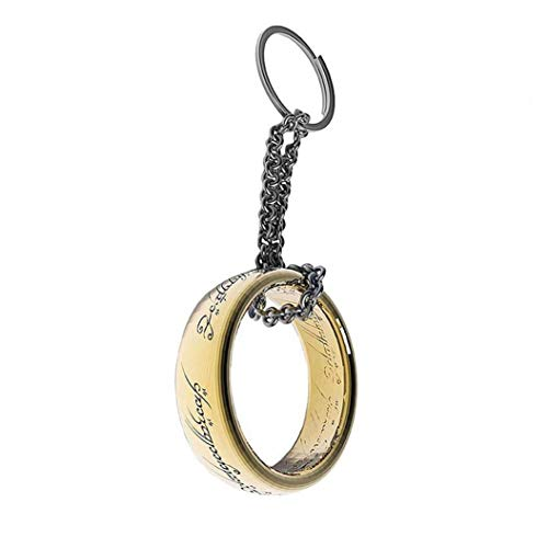 ABYstyle Abysse Corp_ABYKEY168 Lord Keychain 3D Ring X2, Multi Colour (Lord Of The Rings Keychains)