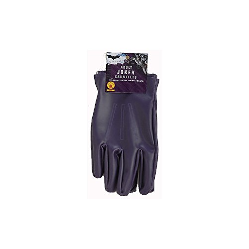 The Joker Adult Gloves Purple, One Size - coolthings.us