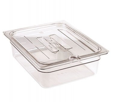- Cambro 30CWCHN135 Camwear 1/3 Size Notched Food Pan Cover for Chilis