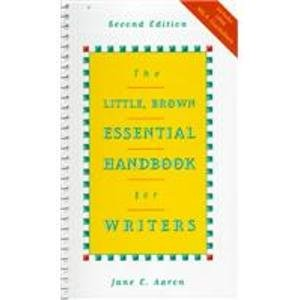 The Little, Brown Essential Handbook for Writers/With Mla Update