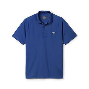 d92738b312 Lacoste Sport dh9631 Polyester Polo pour Homme – Style Victorien Bleu  x-Large