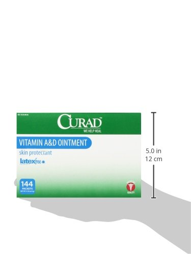 Amazon.com: Medline Curad A&D Ointment, 144 Count: Health & Personal Care