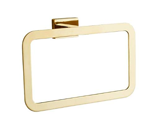 LYLE Bathroom Towel Ring, Stainless Steel Construction, Gold #LYLE71 LYLE71014