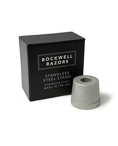 Rockwell Razors Stand Matte Stainless Steel
