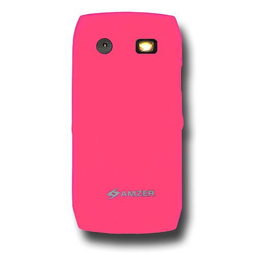 (Amzer Silicone Skin Jelly Case for BlackBerry Pearl 9100/9105 - Baby)