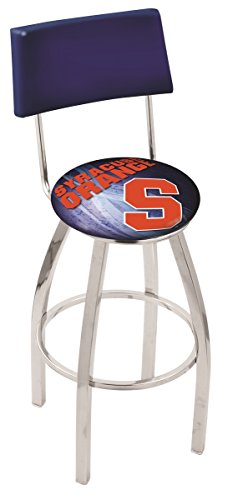 Holland Bar Stool Officially Licensed L8C4 Syracuse University Swivel Bar Stool, 30