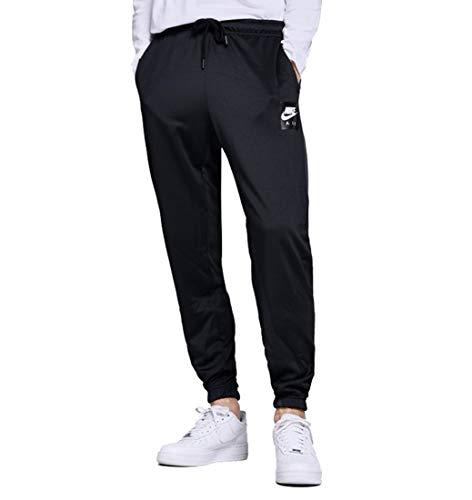 NIKE Mens Sportswear Air Sweatpants Black/Anthracite Grey AJ5317-010 Size Medium ()