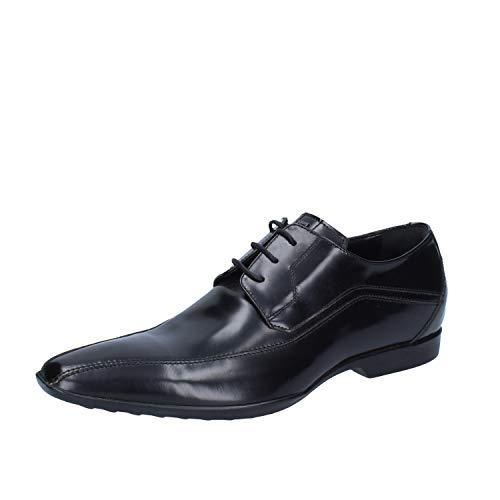 Noir Pignatelli Chaussures Cuir Carlo Élégantes Homme sxtQhrdC