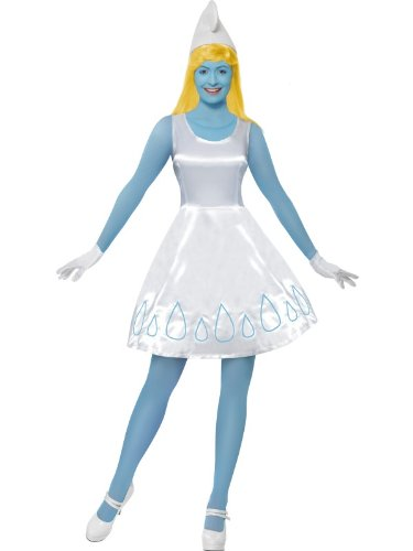 Smiffy's Smurfette Costume, Deluxe X Small -