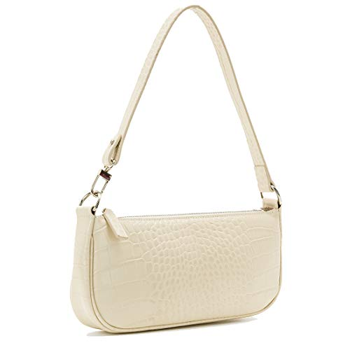 Shoulder Bag For Women Handbags Ins Crocodile Pattern Baguette Retro