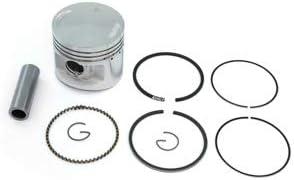 4 Piston Kits Rings Clips /& Pins Standard Bore Fits Honda CB500K CB500 71-73