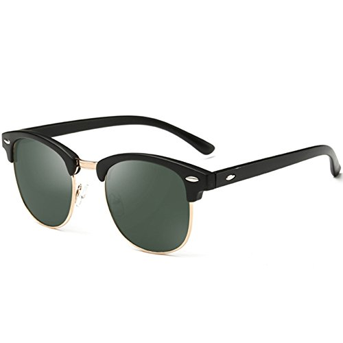 Joopin Semi Rimless Polarized Sunglasses Women Men Brand Vintage Glasses Plaroid Lens Sun Glasses - Polarized Sunglasses Womens