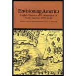 Envisioning America::English Plans for the Colonization of North America, 1580-1640[Paperback,1995]