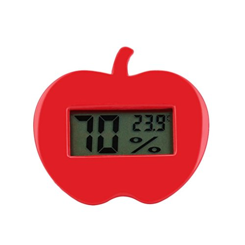 Price comparison product image Dressffe Mini Temperature Humidity Meter Clock LCD Display Thermometer Hygrometer Temperature Humidity Meter Digital