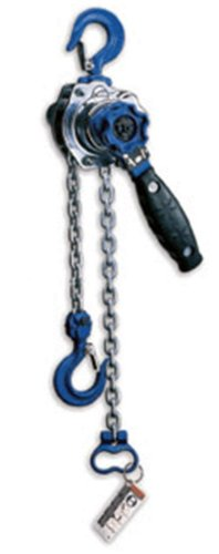 AMH Mini Lever Hoist, Hook Mount, 550 lbs Capacity, 5' Lift, Headroom, 8.5