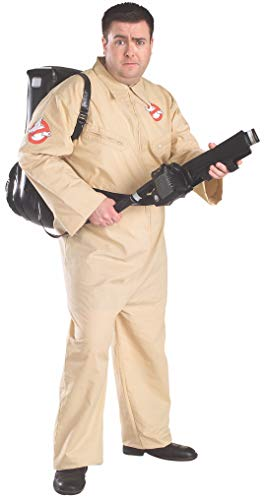 Ghostbusters Costumes For Men - Ghostbusters Costume With Inflatable Backpack, Plus