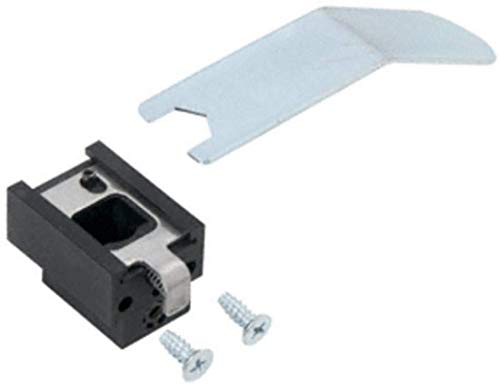Satin Aluminum Top Guide for Jackson Concealed Vertical Rod Panic Exit Devices with Top Bolt