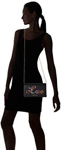 Borsa w Centimeters 6x12x22 À Moschino Love Pu L H nero Femme Noir Sac Bandoulière X Nappa 5AqW4zwS