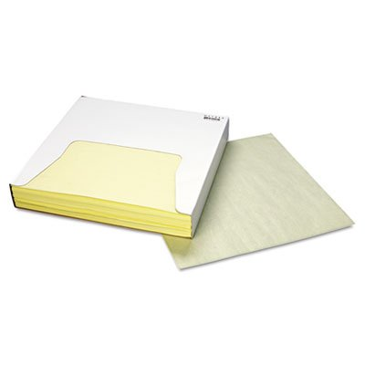 Grease-Resistant Wrap/Liner, 12 x 12, Yellow