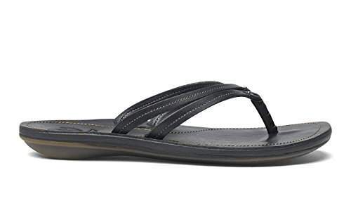 OLUKAI U'I Sandals - Women's Black/Black