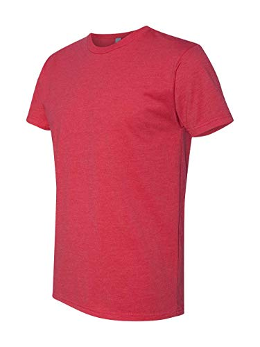 Next Level mens Next Level Premium CVC Crew(N6210)-RED-M