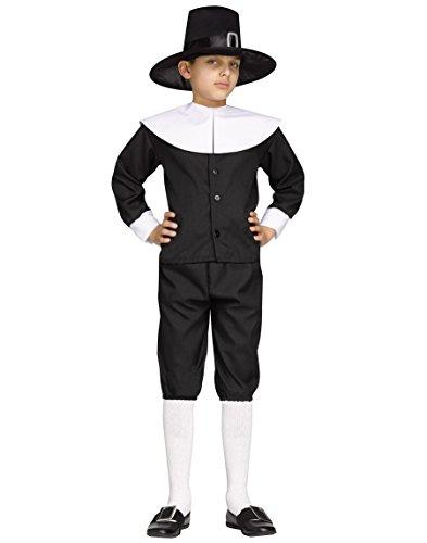 Fun W (Pilgrim Boy Costume)