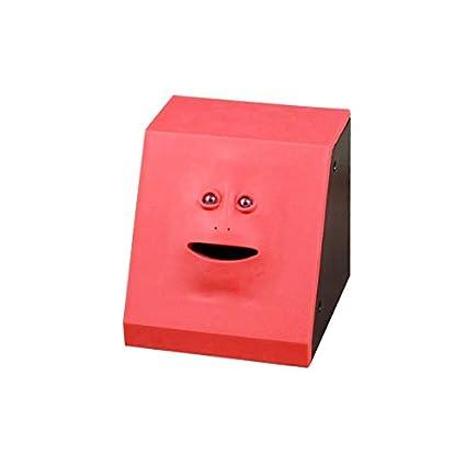 Money Eating Face Box Cute Facebank Piggy Coins Bank Funny Money Coin Box