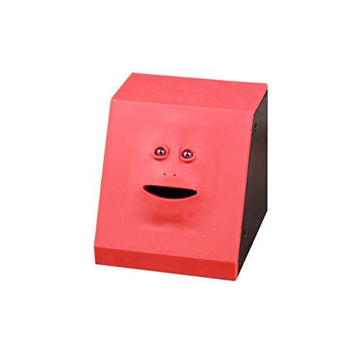 (Lovelysunshiny Money Eating Face Box Cute Facebank Piggy Coins Bank Funny Money Coin Box )